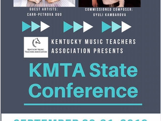 Kentucky Music Teachers State Conference Is Coming Soon!
