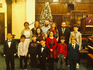 Christmas Recital at the Crescent Hill United Methodist Church