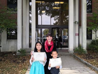 My Student Won A Piano Competition in Lexington!