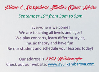 Our Studio's Open House Is Tomorrow!