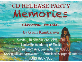 "CD ""Memories"" Release Party"