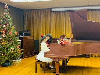 Our Fabulous Christmas Recitals