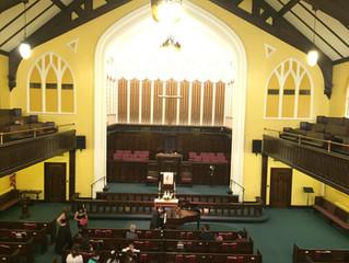 Recital at the Crescent Hill United Methodist Church