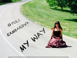 "Finally, I am releasing CD ""My Way""!"