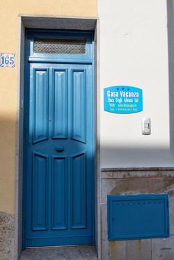 Cartello e porta