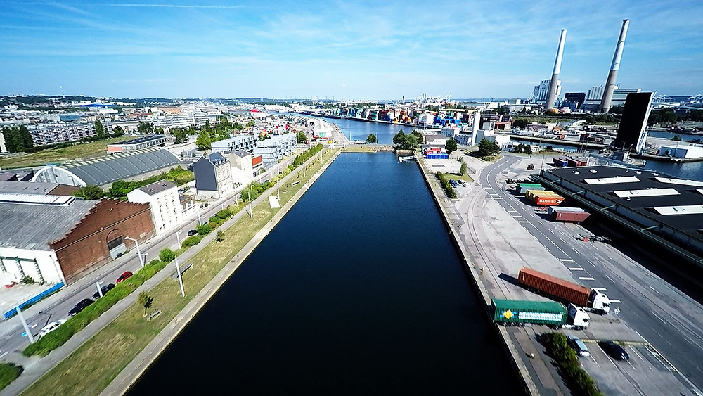Image Drone : 7CIS (Le Havre)