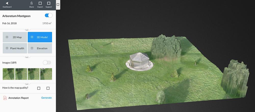 Modélisation 3D - Cliquez sur l'image pour lancer l'animation