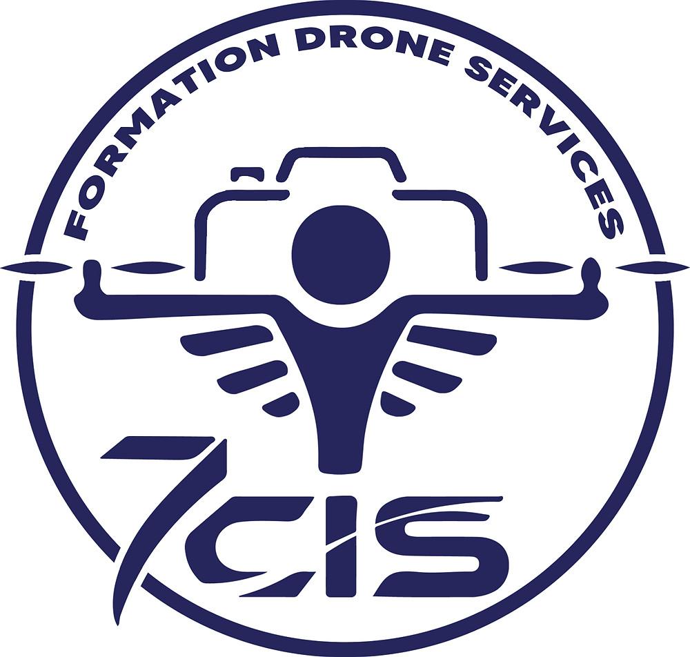 Logo 7CIS - Image Vectorielle - Formation Drone Services
