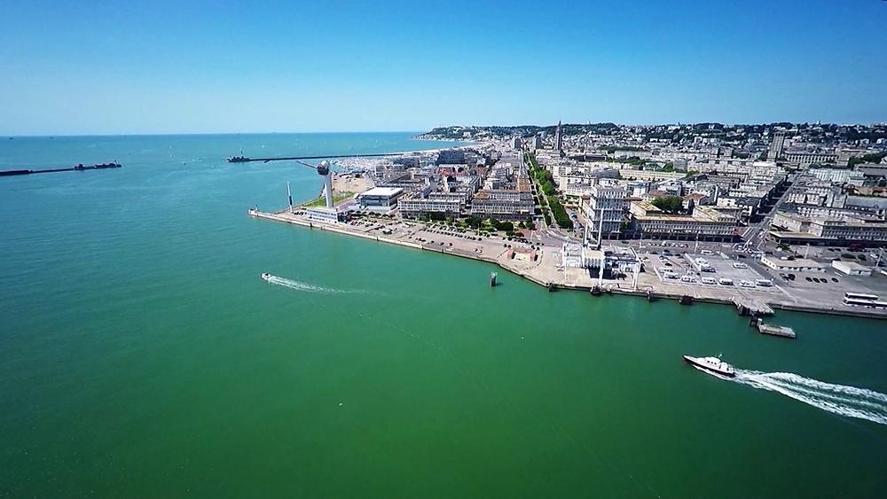 Images Drone : 7CIS Le Havre