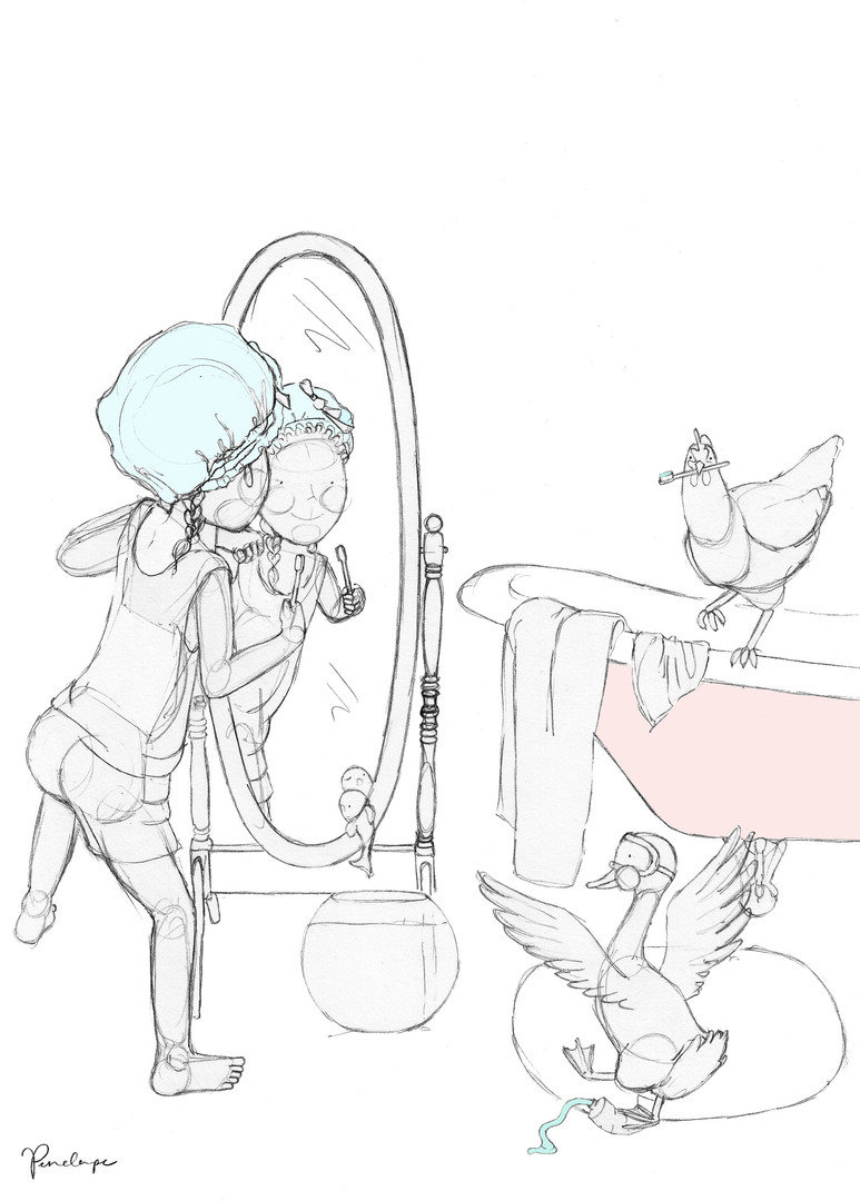 Bathtime sillies