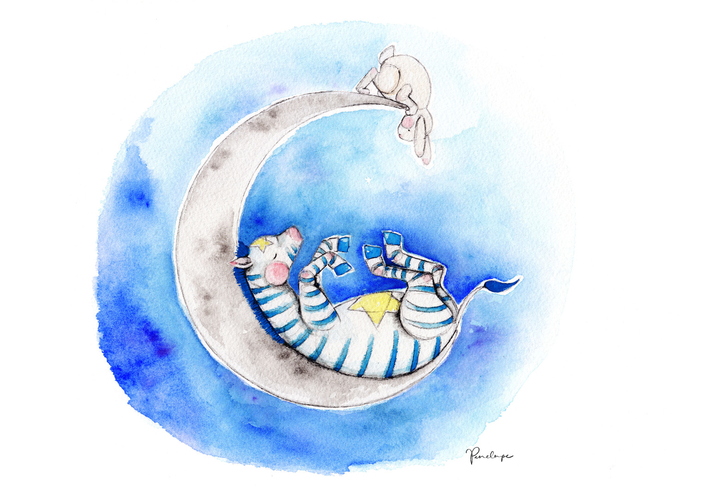Zebra Dreaming