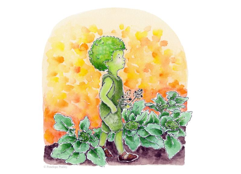 Broccoli babe