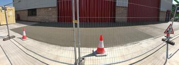 New design Concrete loading ramp