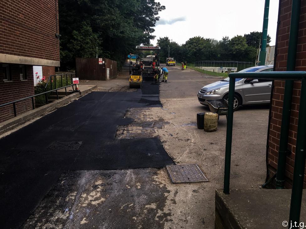 Abeydale road sports club Resurfaced and