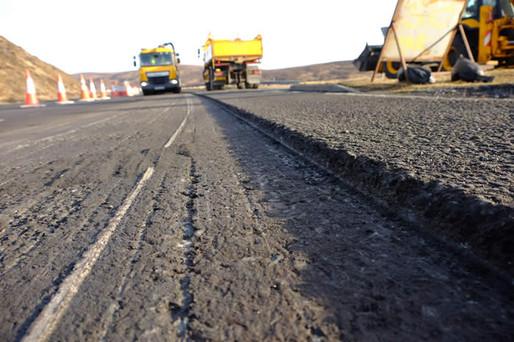 Asphalt Road install