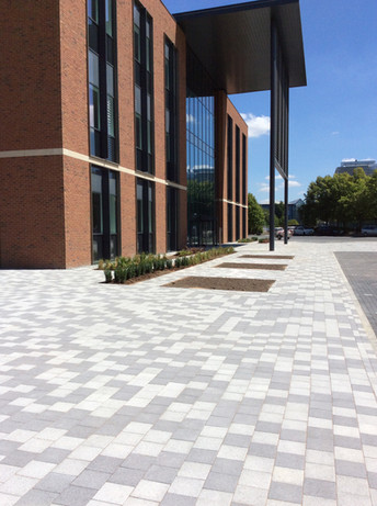 Block-paved offices