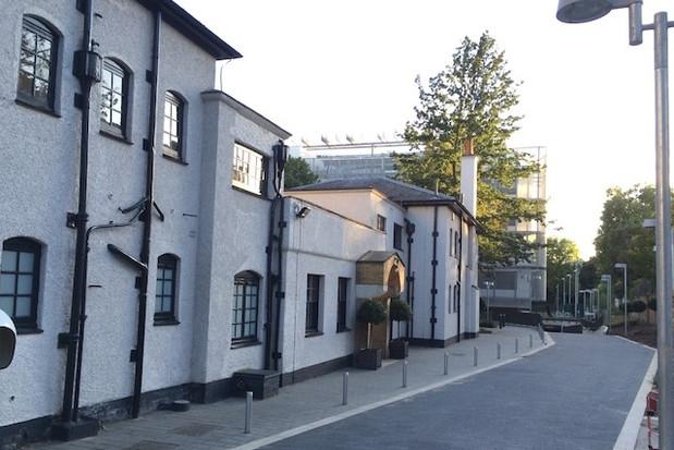 Block-paving Holland Park School Kesington