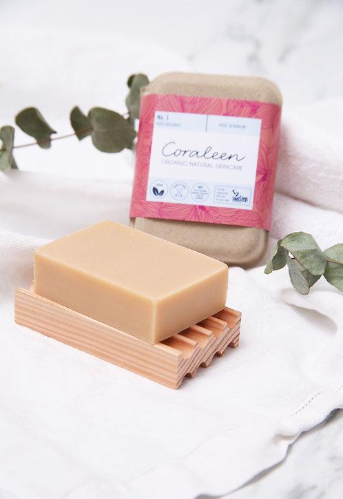 Rosy Radiance - Organic Rose Geranium Soap Bar