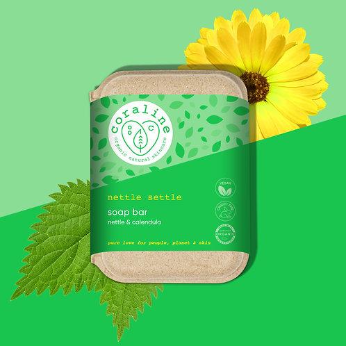 Nettle Settle - Nettle and Calendula Soap Bar