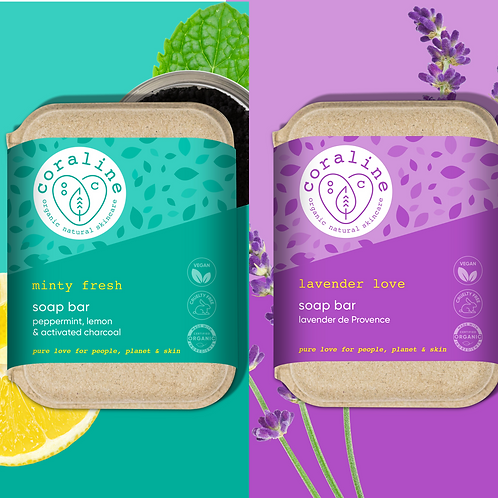 Herbal Heaven -Refreshing Twin Box - Lavender de Provence - Peppermint and Lemon