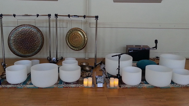Soul Soothing Sound Bath- Seats Still Available