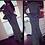 Thumbnail: Dots Printed Ruffles Peplum Dress