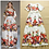 Thumbnail: Printed Flowers Elegant A Line Maxi