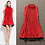 Thumbnail: Sleeves Pleated Ruched Dress