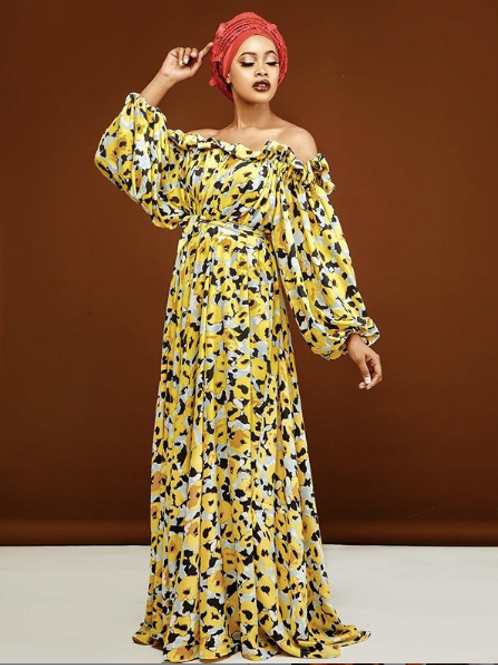 Nara Off the Shoulder Maxi Dress