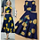 Thumbnail: Embroidery Flowers T Shirts w Floral Skirt Twinset