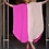 Thumbnail: Pink Midi Color Block Bubu/Caftan Dress