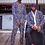 Thumbnail: Unisex Mismatched Kimono & Pant Set