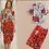 Thumbnail: Printed Shirts with Floral Straight Skirts twinset