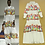 Thumbnail: Long Sleeves Ruffles Characters Print Dress