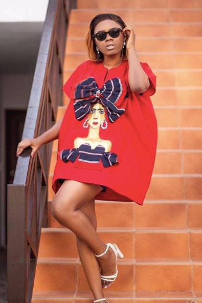 Hand-Painted Danshiki Tunic Dress