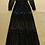 Thumbnail: Off the Shoulder Long Sleeves Slash Neck Dress