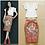 Thumbnail: Runway Sleeves Blouse with Printed Pencil Skirt