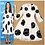 Thumbnail: Printed Dots Elegant Lace Dress