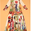 Thumbnail: Vintage Printed Elegant A Line Runway Dress