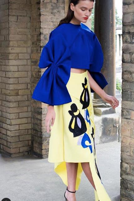 Ethnic Revolution Skirt/Top Set