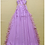 Thumbnail: Halter Sleeveless Tassel Detailing  A Line Dress