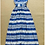 Thumbnail: Sleeveless Striped Color Block Elegant Runway Maxi