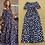 Thumbnail: Slash Neckline Hearts Short Sleeves Printed Dress