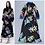 Thumbnail: Printed Sashes Belt Floral Vintage Maxi Dress