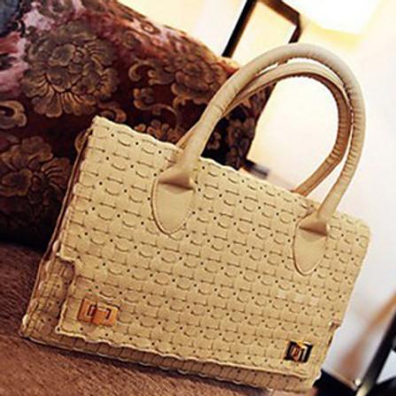 Braided Satchel handbag