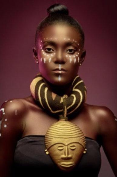 Sakyi17 Statement Afro Necklace