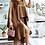 Thumbnail: Mocha Cord Top/Skirt Set
