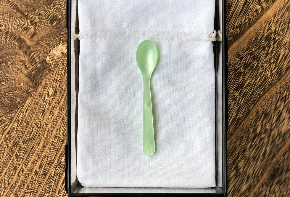 Handmade Espresso & Spice Spoon | Mint Green