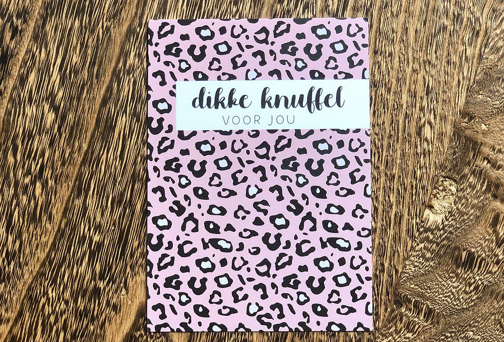 Dikke Knuffel Card