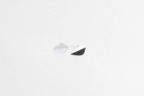Mini Leaf Ohrstecker Silber